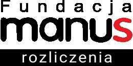Rozliczenia w Fundacji Manus Logo